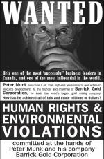 Peter Munk, Barrick Gold, human rights, mining, gold, environment, disrupt